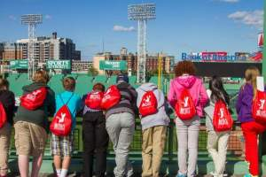 Students on a Heritage Tour with Cheshire YMCA